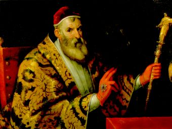 Sisto V visto dal Bellini - collezione privata, Parigi